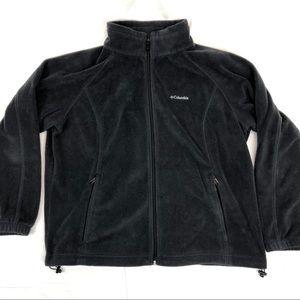Columbia black full zip fleece jacket - 2X